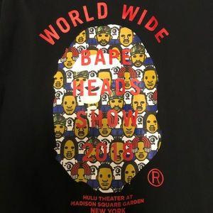 Bape Heads Concert Shirt